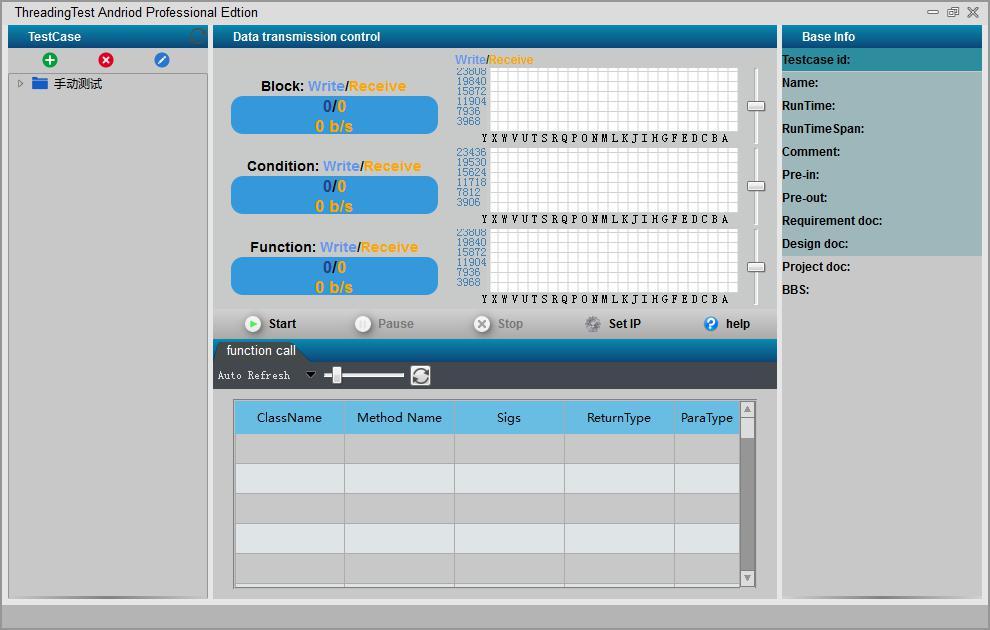 示波器界面_(1)点击tt工具栏view->dtcview进入示波器界面