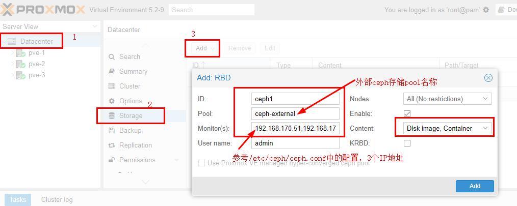 ProxmoxVE 之使用外部ceph存储-腾讯云资讯