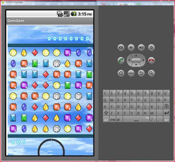 宝石碰碰:HTML5开发Android本地化App游戏案例